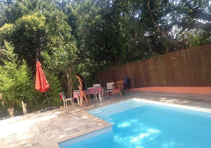 Maison piscine, proche du centre ville de Frejus