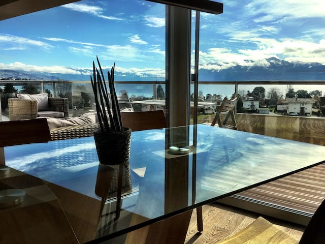 Panoramic Lake View Luxury Equiped - Saint-Sulpice - Apartment