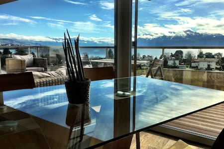 Panoramic Lake View Luxury Equiped - Saint-Sulpice - Lejlighed