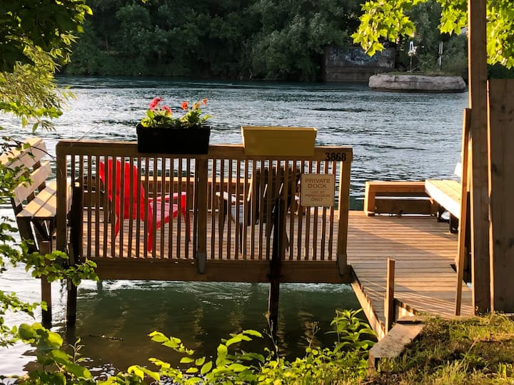 Cozy River House with a Private Dock, Sleeps 12