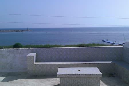maison vue panoramique sur mer - Kélibia - Apartemen