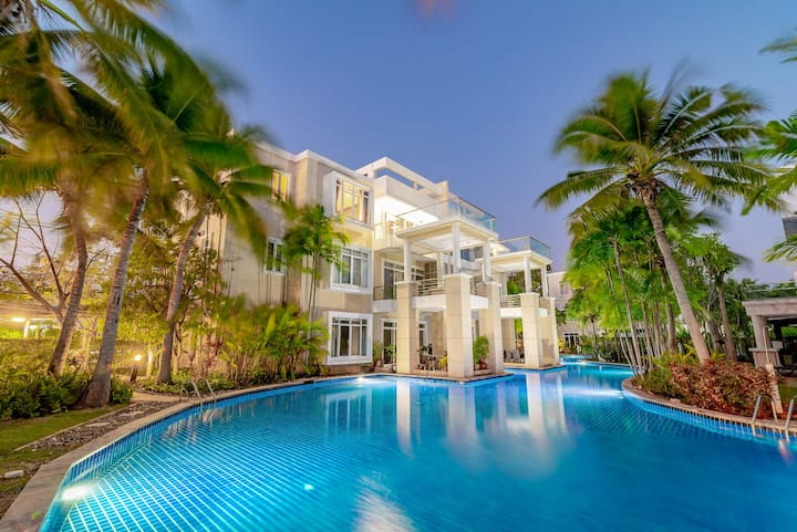 Hua Hin Blue Lagoon, 2br2r3beds, 中文語OK for 6guests