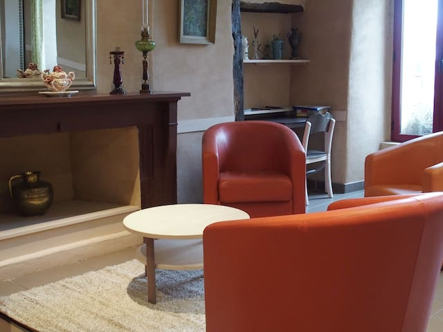 Manoir aménagé en gîte de 15 places - Talensac - Dům
