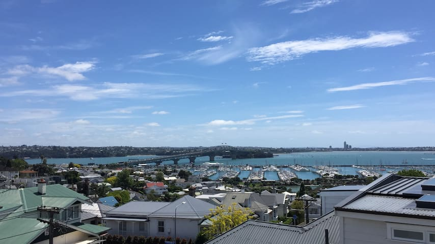 Funky Ponsonby apartment with epic views! - Auckland - Departamento