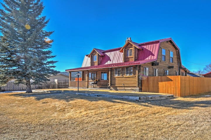 NEW! 'Red Roof Retreat' 4BR Panguitch Home!
