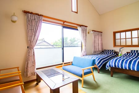 Entire House up to 6ppl  30min from Sendai Airport