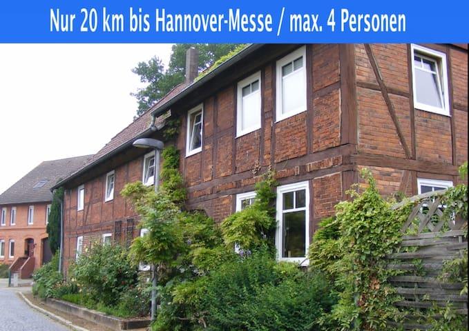 Komplette Wohnung, 20 km bis Hannover-Messe - Nordstemmen - Lejlighed