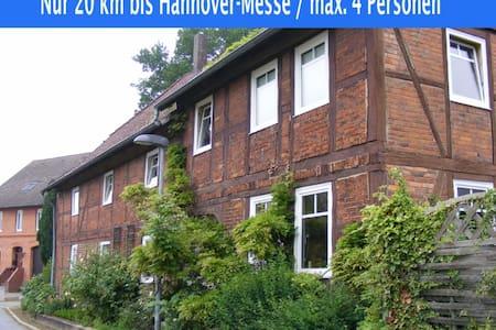 Komplette Wohnung, 20 km bis Hannover-Messe - Nordstemmen - Appartement