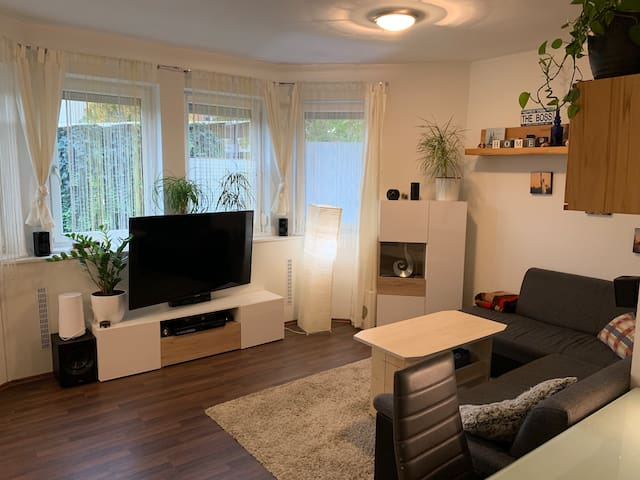 modern and quiet flat with best public transport