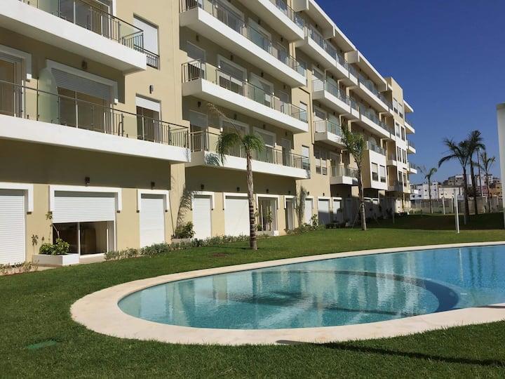 Appartement neuf avec piscines