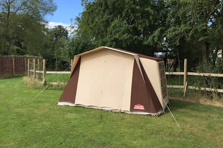 French-style frame tent, Toft Monks - Toft Monks