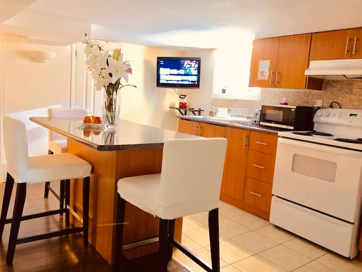 Private 1BR with unique charm and extras
