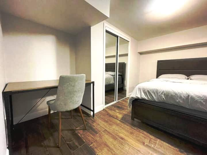 Renovated Apartment with parking space