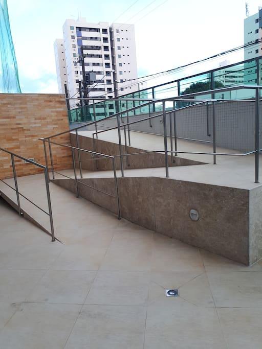 Acesso a piscina