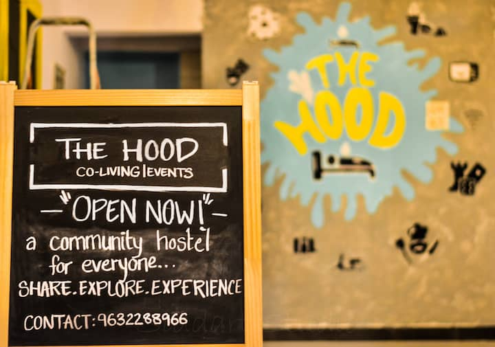The Hood Co-living Hostel - Mix Dorm