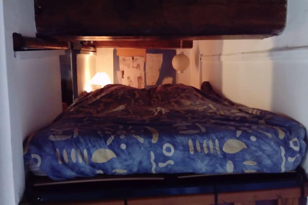 Chambre mezzanine Alcove