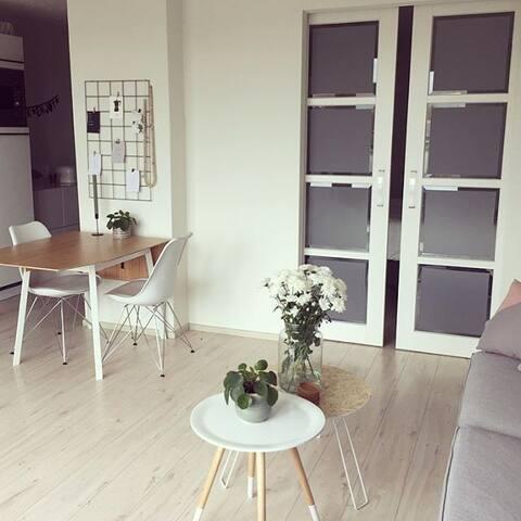 Sfeervol appartement in hartje Kampen