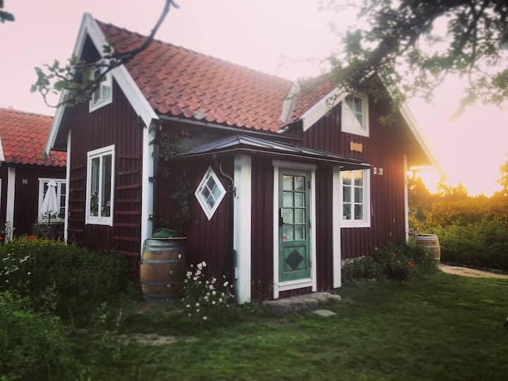 Genuine Swedish cottage 20 mins to Stockholm city
