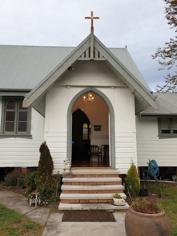 Stay in the former Church in a tranquil setting