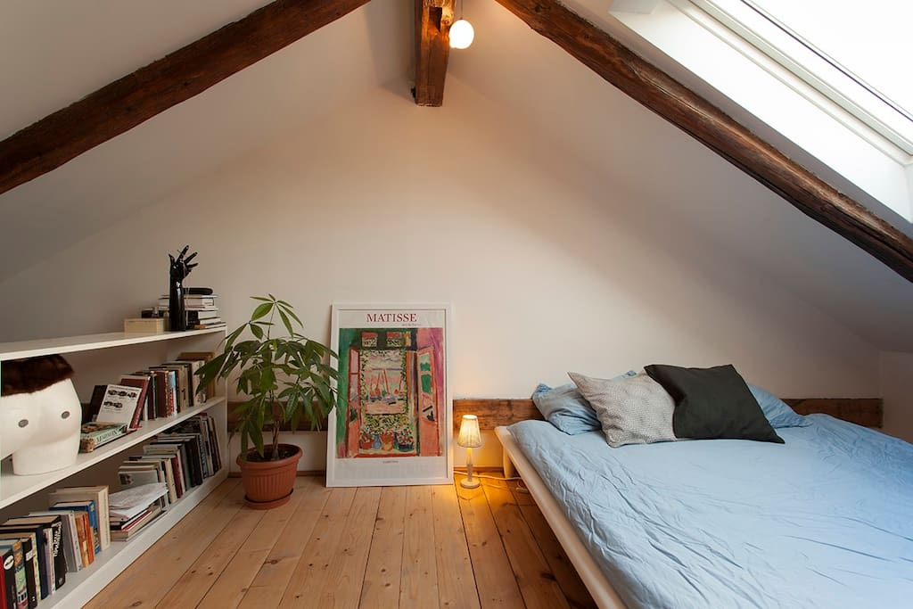 Beautiful attic apartment in letna apartments for rent - Setting up an attic apartment ...