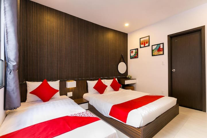 Kha Thy Hotel - Triple room 1 with 02 beds