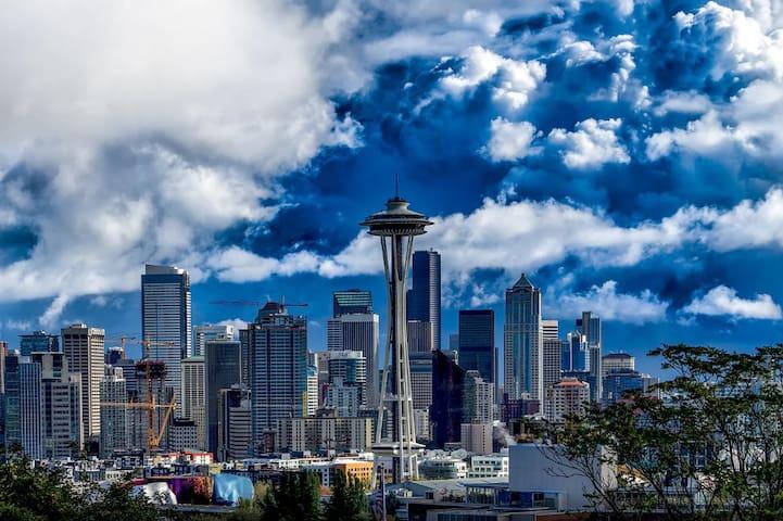 Space Needle Studio Corporate Housing 4 DJ - Seattle - Apartemen