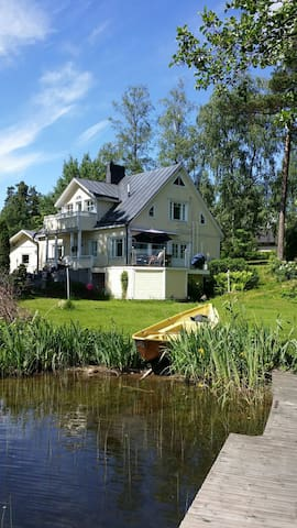 Lakeside Villa close to city - Lahti - Casa