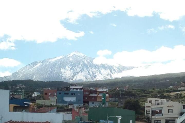 Bello Chalet vista al mar y al volcan,  Tenerife.5