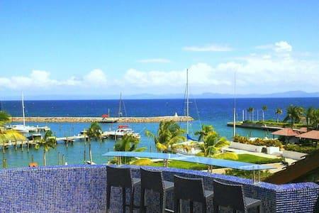 Puerto Bahia Samana Ocean View Penthouse - Samaná - Apartmen