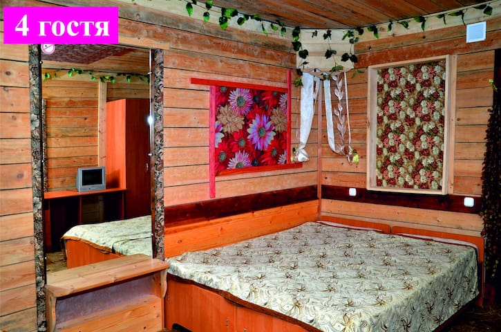 Уютные номера в мини-отеле Марал, п. Эльбрус