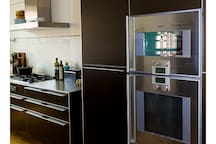Family home by beach and dunes  - design kitchen