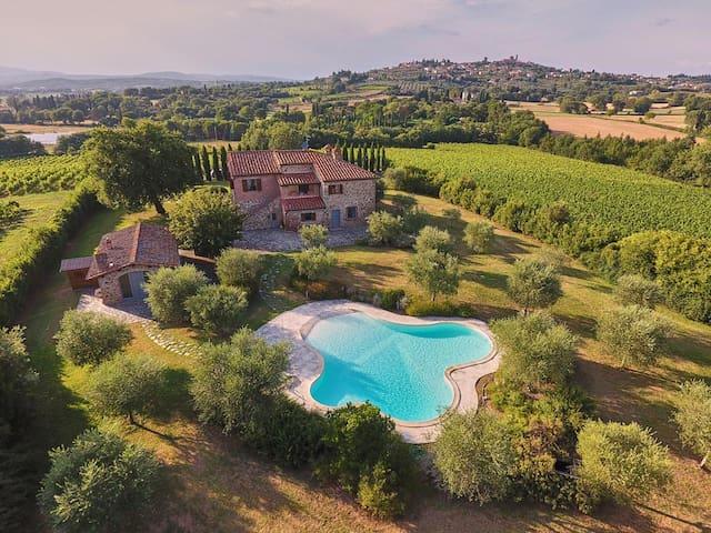 Villa con piscina - Lucignano - 別墅