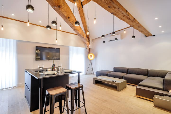 Mini-Loft with City Center seeing - Lyon - Leilighet