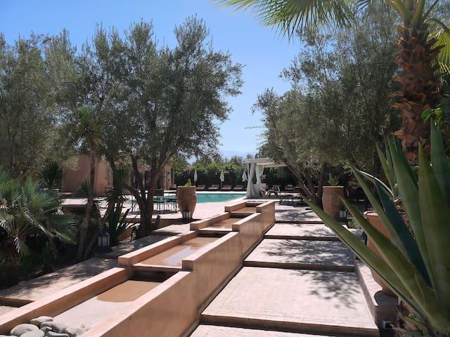 Le Mas de l'Ourika (9rooms-18pers). - Marrakech - Villa