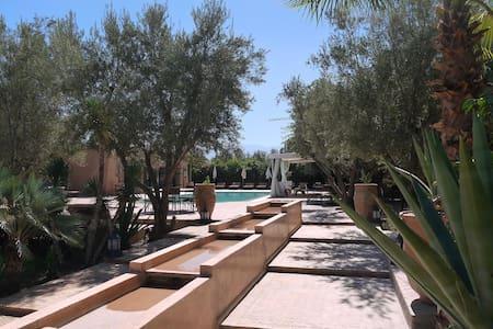 Le Mas de l'Ourika (9rooms-18pers). - Marrakesch - Villa