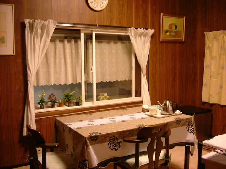 Private Japanese-style room in Narita