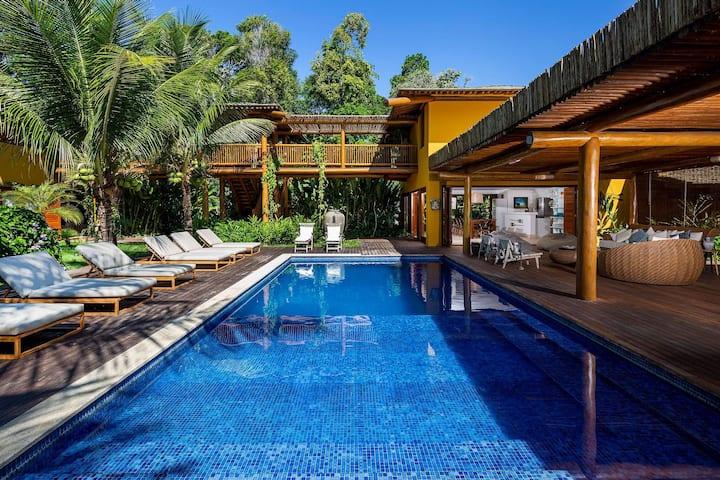 Bah024 - Stunning house in Itapororoca Village