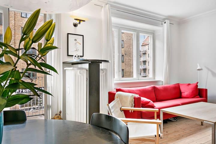 Cozy, nice apartment, bikes incl. - Copenhaguen