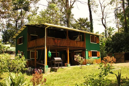 For 13 people@JungleGreenHouse+Wifi(PlayaChiquita) - Playa Chiquita  - House