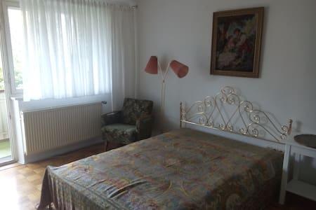 Schönes Balkon-Zimmer zwischen Uni und Altstadt - Regensburg - Rumah bandar