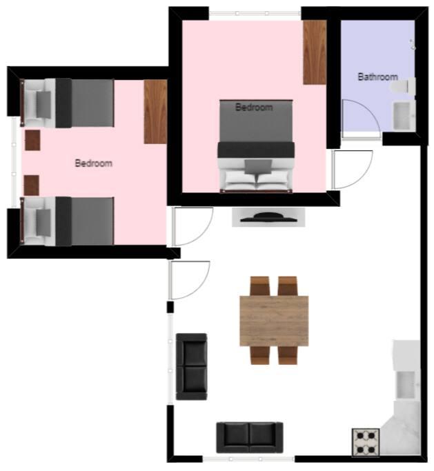 Referencia de la distribución de espacios