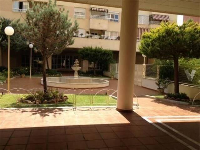 Piso con piscina y garaje subterraneo en Malaga - Málaga - Apartamento