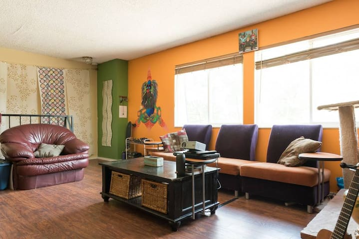 Colorful & Loving Denver Condo (Private Room)