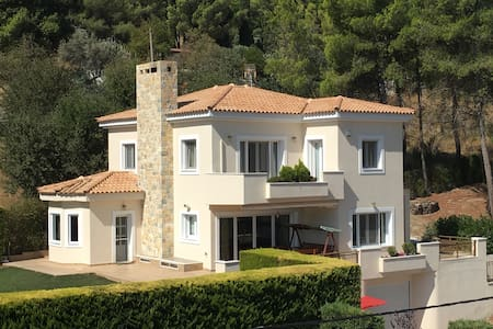 Villa Forest - Athens Afidnes Kosmothea  - วิลล่า