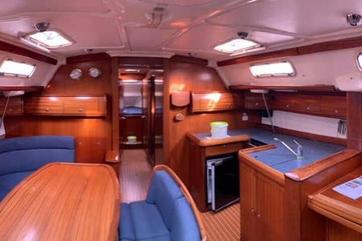 suite sx a bordo di uno yacht a Venezia