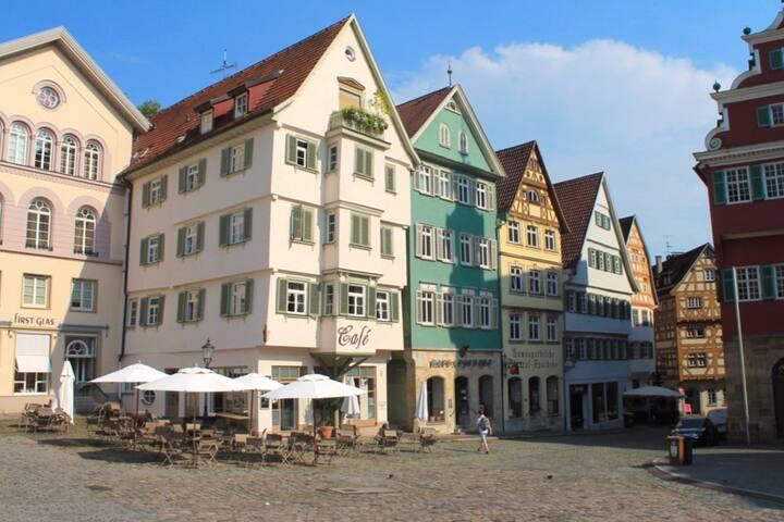Wohnen im Denkmal - mitten in Esslingen