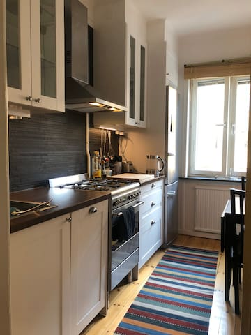 Super central cosy flat! 3 min walk from tube.