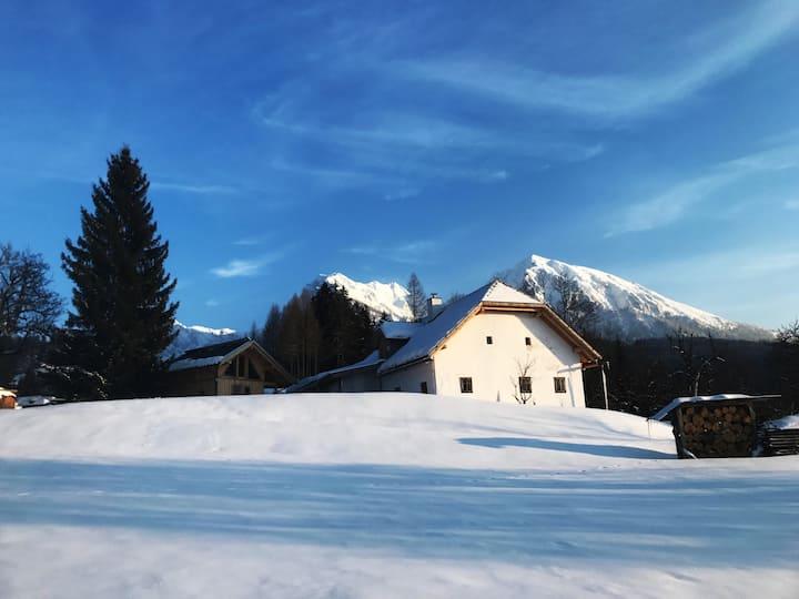 """Berghütte: Forsthaus """"Unterfahrenberg"""" Oberweng"""