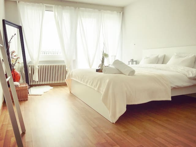 CuteCleanCozy: 5min From Train Station - Lucerne - Apartamento