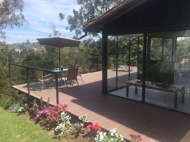 Casa campestre,espectacular vista al campo de golf